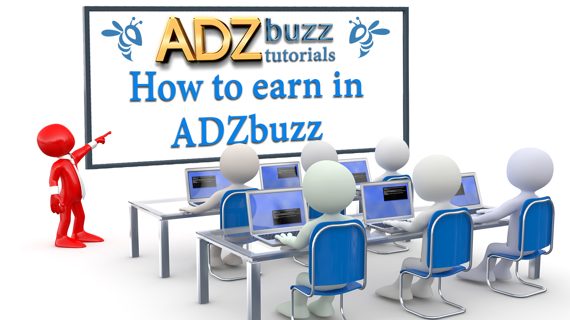 ADZ tutorials – How to earn in ADZbuzz