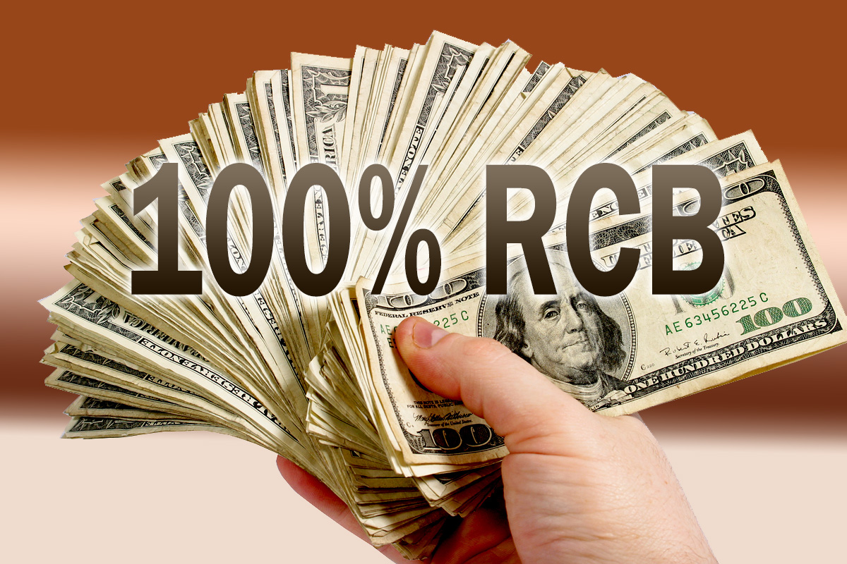 100% referral commission back