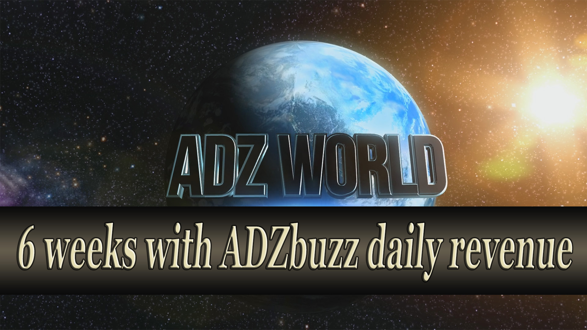 My life with ADZbuzz – 6 weeks with daily earnings