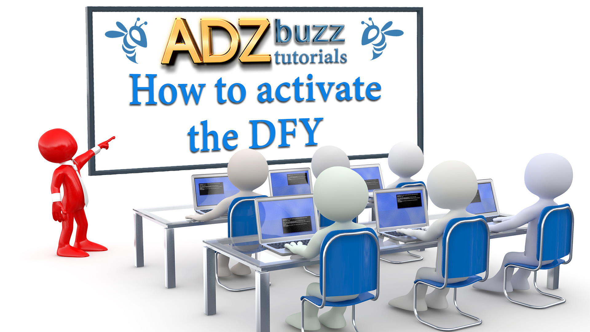 ADZ Tutorials – How to activate the DFY