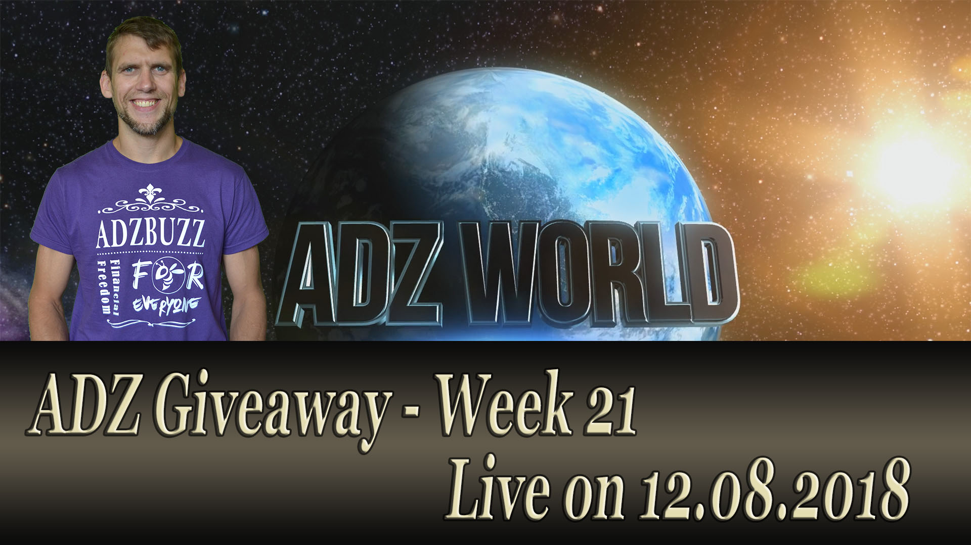 ADZ Giveaway – Part 21 Live Broadcast