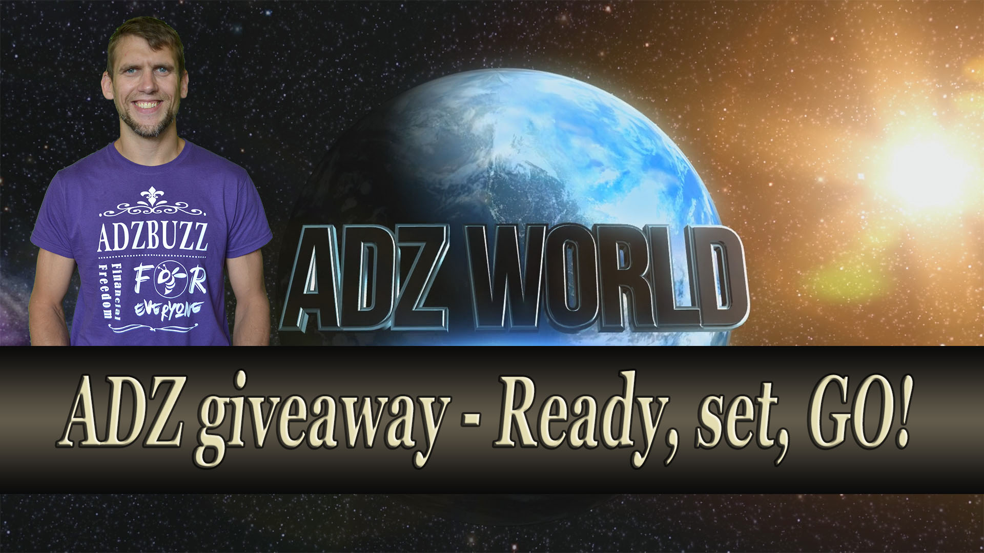 ADZ Giveaway – Ready, Set, Go!