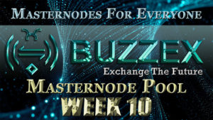 ADZ World's BZX Masternode Pool Week 10