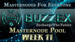 ADZ World's BZX Masternode Pool Week 11