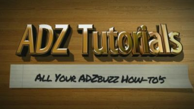 ADZ Tutorials