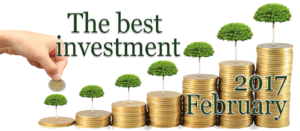 The best investment in February 2017