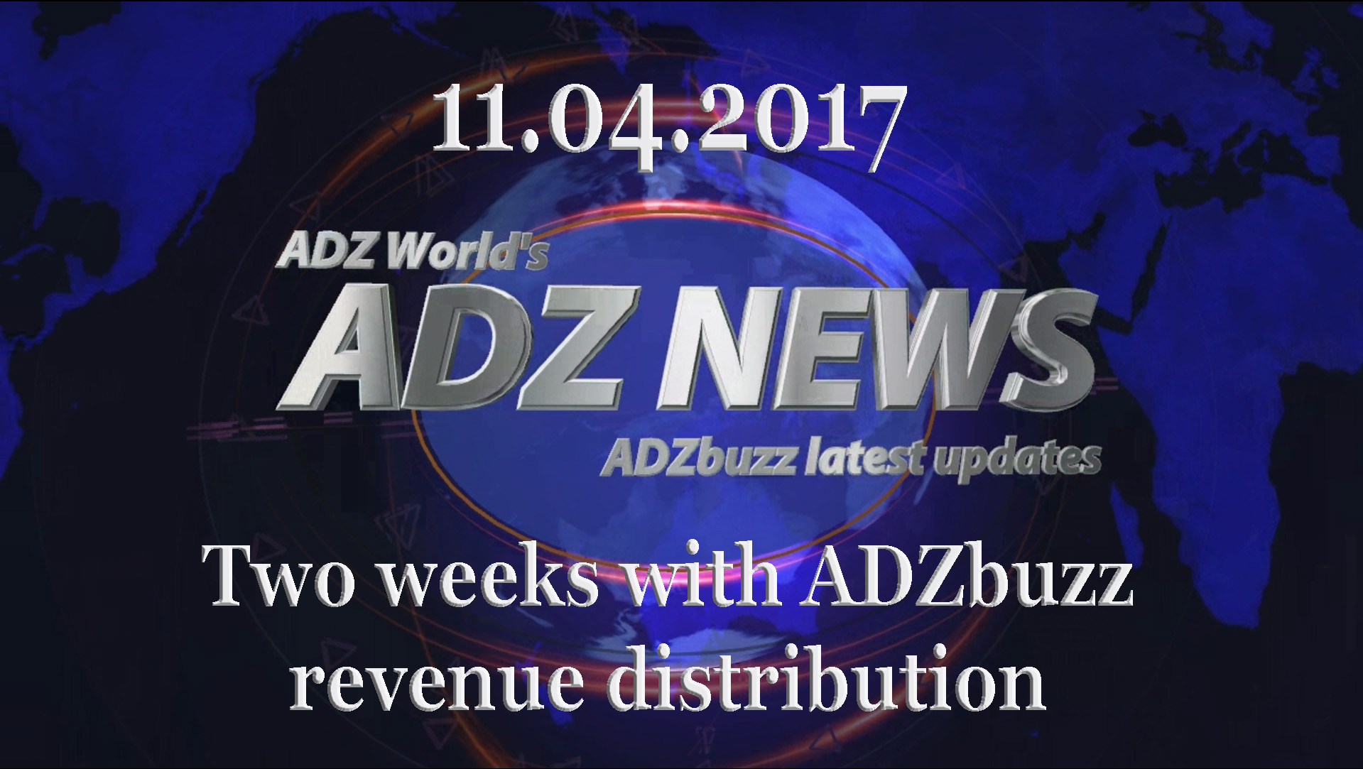ADZ News 11.04.2017 (VIDEO) – 2nd week with revenue distribution