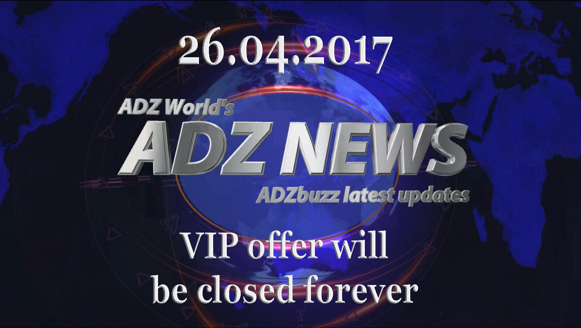 ADZ News 26.04.2017 – VIP Offer, is it worth it?
