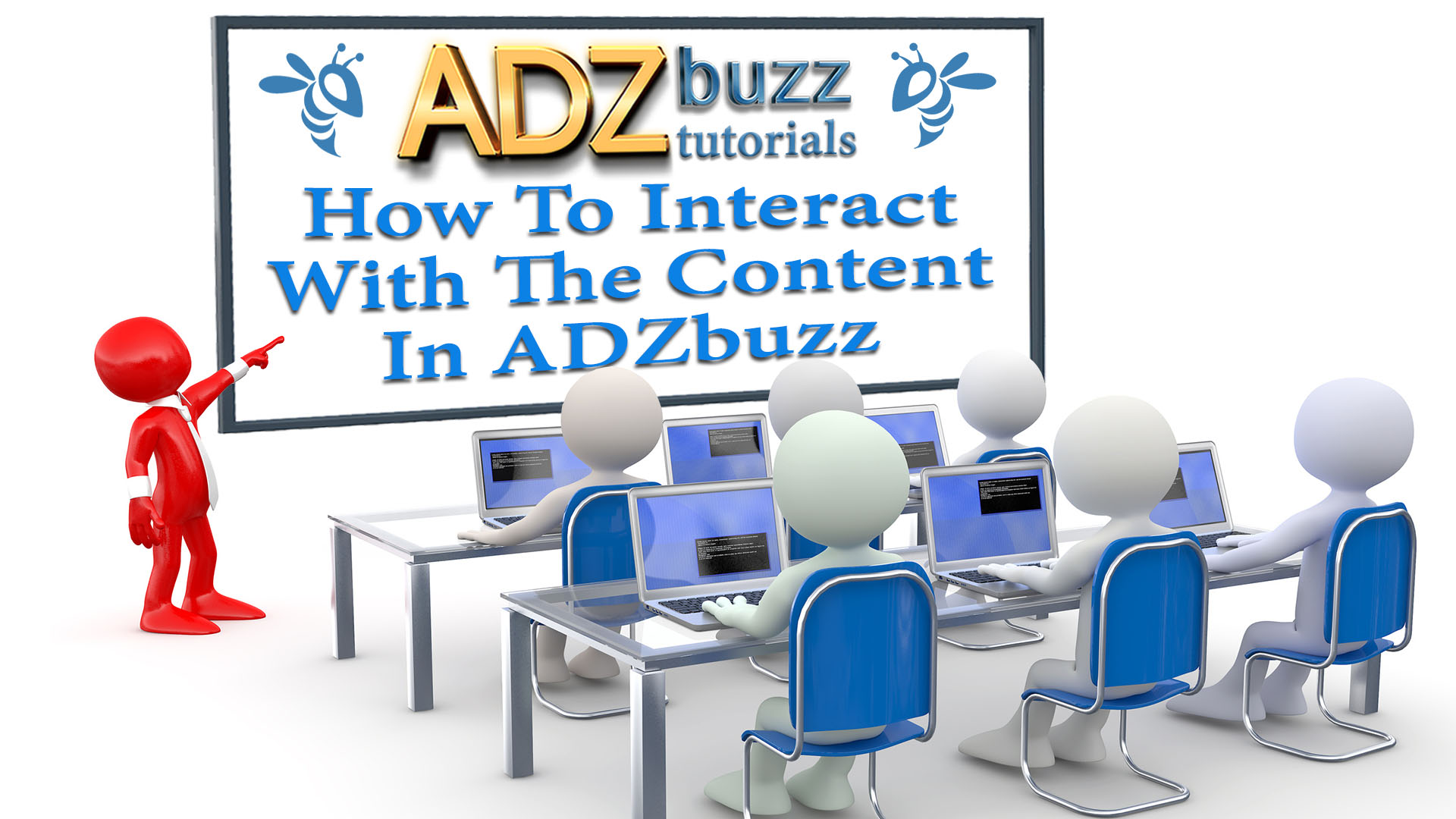 ADZ Tutorials – How To Interact With The Content In ADZbuzz