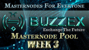 ADZ World's BZX Masternode Pool Week 3