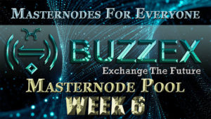 ADZ World's BZX Masternode Pool Week 6