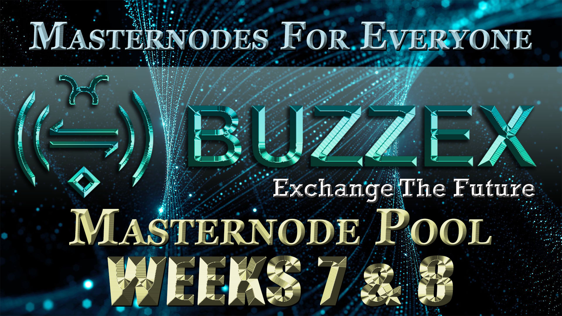 ADZ World's BZX Masternode Pool Week 7-8